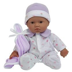 JC Toys, La Baby 11-inch Hispanic Washable Soft Body Play Doll For Children 18 months Or Older, Designed by Berenguer