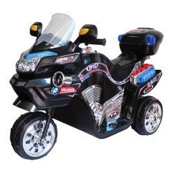 Ride on Toy, 3 Wheel Motorcycle for Kids, Battery Powered Ride On Toy by Lil' Rider  – Ride on Toys for Boys and Girls, 2 – 5 Year Old – Black FX