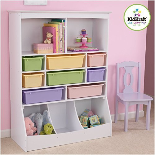 KidKraft 14980 Wall Storage Unit, White