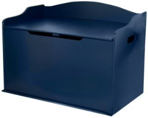 KidKraft 14959 Austin Toy Box, Blueberry, 30Lx18Wx21.25″H