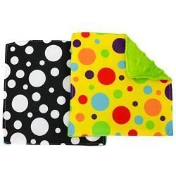 S&T 598701 Baby Crinkle Square Sensory Toys – 6″ x 6″, Assorted, 2PK