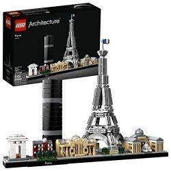 LEGO Architecture Skyline Collection 21044 Paris Building Kit (649 Piece)