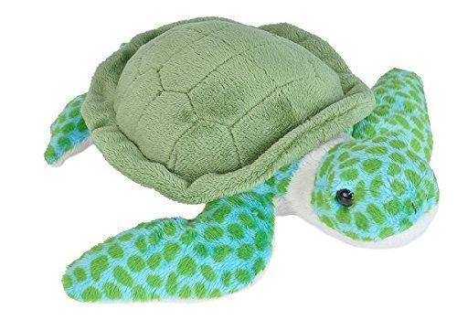 Wild Republic Plush Toy, 8″, Sea Turtle