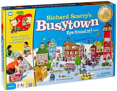 Wonder Forge Richard Scarry's Busytown, Eye Found It Toddler Toy and Game for Boys and Girls Age 3 and Up – A Fun Preschool Board Game