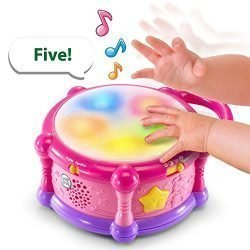LeapFrog Learn & Groove Color Play Drum Bilingual, Pink (Amazon Exclusive)