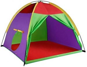 "Alvantor Kids Tents Indoor Children Play Tents for Toddler Tents for Kids Pop Up Tent Boys Girls Toys Indoor Outdoor Play Houses 8017 Giant Party 58""x58 x47"