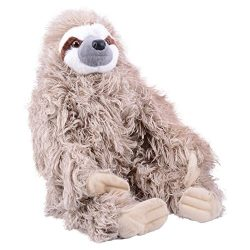 Wild Republic Cuddlekin Three Toed Sloth 12″ Plush