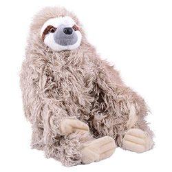 Wild Republic Cuddlekin Three Toed Sloth 12″ Plush
