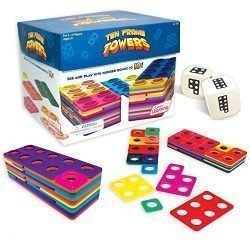Junior Learning Ten Frame Towers Board Games