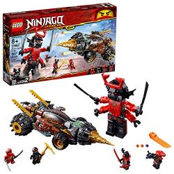 LEGO Ninjago Legacy Cole's Earth Driller 70669 Building Kit , New 2019 (587 Piece)