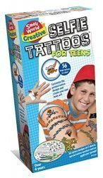 Small World Toys Creative- Selfie Tattoos for Teens Kit