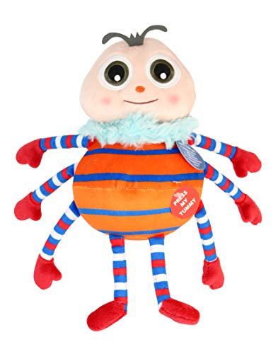 Little Baby Bum 11034 Spider Musical Singing Plush, Multicolor