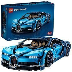 LEGO Technic Bugatti Chiron 42083 Race Car Building Kit and Engineering Toy, Adult Collectible Sports Car with Scale Model Engine (3599 Piece)