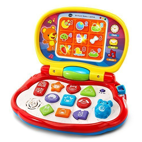 VTech Brilliant Baby Laptop (Frustration Free Packaging)
