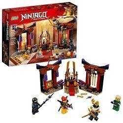 LEGO NINJAGO Masters of Spinjitzu: Throne Room Showdown 70651 Building Kit (221 Piece)