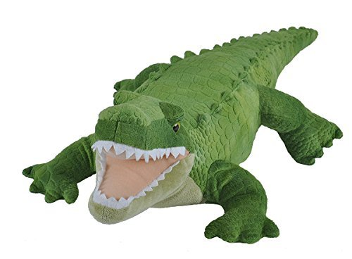 Wild Republic Green Alligator Plush, Stuffed Animal, Plush Toy, Gifts For Kids, Cuddlekins, 23″