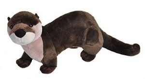 Wild Republic River Otter Plush, Stuffed Animal, Plush Toy, Gifts for Kids, Cuddlekins 12″