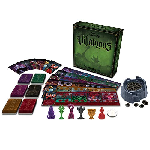 Ravensburger Disney Villainous Strategy Board Game for Age 10 and Up – 2019 TOTY Game of the Year Award Winner