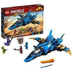 LEGO NINJAGO Legacy Jay's Storm Fighter 70668 Building Kit, New 2019 (490 Pieces)