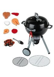 Theo Klein Weber Kettle Grill Toy – Mini