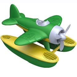 Green Toys Seaplane in Green Color – BPA Free, Phthalate Free Floatplane for Improving Pincers Grip. Toys and Games