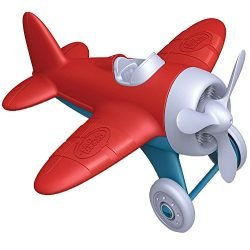 Green Toys Airplane – BPA Free, Phthalates Free, Red Aero Plane for Improving Aeronautical Knowledge of Children. Toys and Games