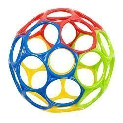 Oball Classic Ball – Red, Yellow, Green, Blue