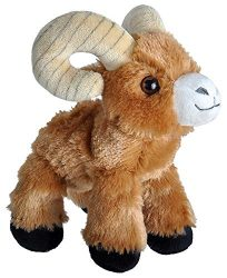 Wild Republic Bighorn Sheep Plush, Stuffed Animal, Plush Toy, Gifts for Kids, Hug'EMS 7″
