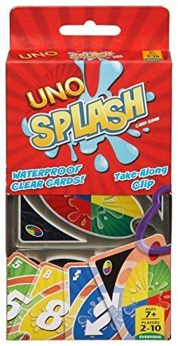 Mattel Games UNO Splash Card Game