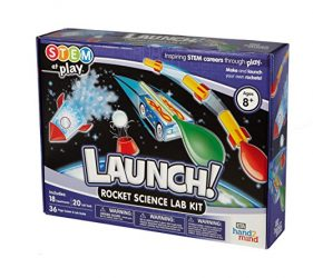 Launch! Rocket Kids Science Kits, 18 Stem Experiments & Activities, Make Your Own Rocket & Solar System, Rocket Races | Gifts for Girls & Boys, Children & Teens | Educational | STEM Authenticated