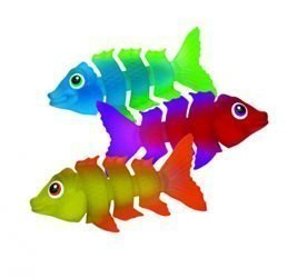 SwimWays Fish Styx Pool Diving Toys – Sinking Fish-Shaped Swim Toys – Pack of 3