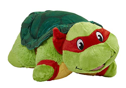 Pillow Pets Nickelodeon Teenage Mutant Ninja Turtles Stuffed Animal Plush Toy 16″, Raphael