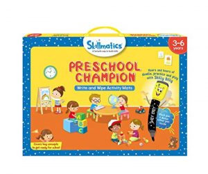 Skillmatics Educational Game: Preschool Champion (3-6 Years) | Creative Fun Activities for Kids