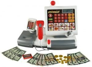 Theo Klein Electronic Toy Cash Register