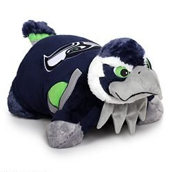Fabrique Innovations NFL Pillow Pet , Seattle Seahawks, Large