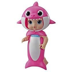 Baby Alive, Baby Shark Blonde Hair Doll, with Tail and Hood, Inspired by Hit Song and Dance, Waterplay Toy for Kids Ages 3 Years Old and Up (Amazon Exclusive)