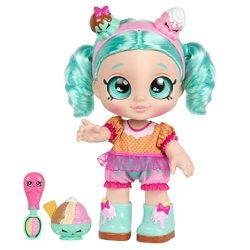 Kindi Kids Snack Time Friends, Pre-School 10″ Doll – Peppa-Mint