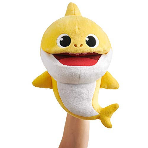 WowWee Pinkfong Baby Shark Official Song Puppet with Tempo Control – Baby Shark – Interactive Preschool Plush Toy