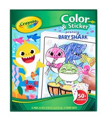 Crayola Baby Shark, Gift for Kids, Ages 3, 4, 5, 6