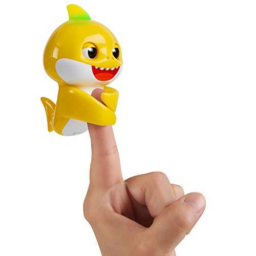 WowWee Pinkfong Baby Shark Fingerlings – Baby Shark – Preschool Interactive Toy