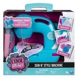 Cool Maker – Sew N' Style Sewing Machine with Pom-Pom Maker Attachment (Edition May Vary)