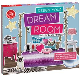 KLUTZ Design Your Dream Room Toy