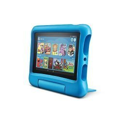 All-New Fire 7 Kids Edition Tablet, 7″ Display, 16 GB, Blue Kid-Proof Case