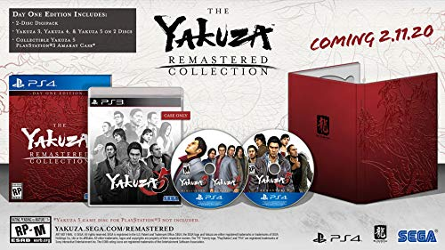 Yakuza Remastered Collection – Day 1 Edition – PlayStation 4