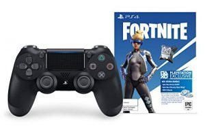DualShock 4 Wireless Controller for PlayStation 4 – Fortnite Jet Black