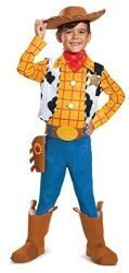 Disney Pixar Woody Toy Story 4 Deluxe Boys' Costume