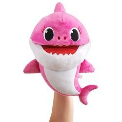 WowWee Pinkfong Baby Shark Official Song Puppet with Tempo Control – Mommy Shark – Interactive Preschool Plush Toy
