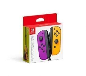 Nintendo Neon Purple/ Neon Orange Joy-Con (L-R) – Switch