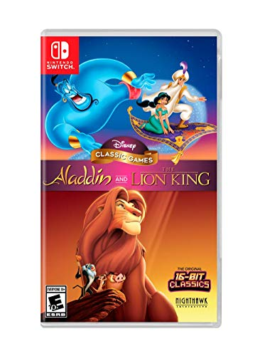 Disney Classic Games: Aladdin and the Lion King – Nintendo Switch