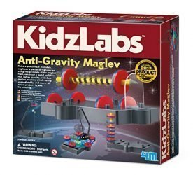 4M KidzLabs Anti Gravity Magnetic Levitation Science Kit – MagLev Physics STEM Toys Educational Gift for Kids & Teens, Girls & Boys